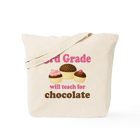 Funny 3rd Grade Tote Bag