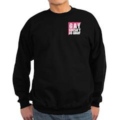 Gay Doesn't Go Away Sweatshirt (dark)