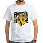 Van Der Poel Coat of Arms White T-Shirt