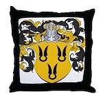 Van Der Poel Coat of Arms Throw Pillow