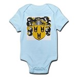 Van Der Poel Coat of Arms Infant Creeper