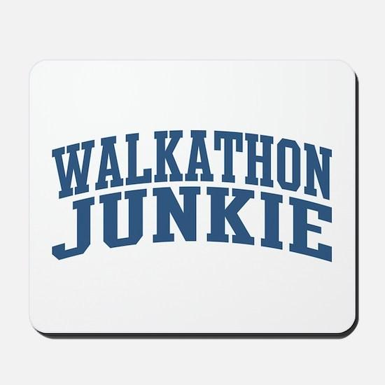 Walkathon Junkie Nickname Collegiate Style Mousepa