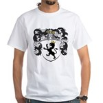 Van Der Poll Coat of Arms White T-Shirt