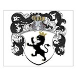 Van Der Poll Coat of Arms Small Poster