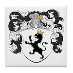 Van Der Poll Coat of Arms Tile Coaster