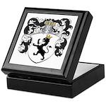 Van Der Poll Coat of Arms Keepsake Box