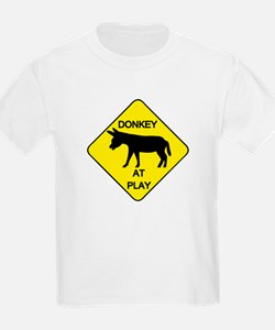 Donkey at Play T-Shirt