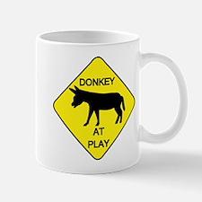 Donkey at Play Mug