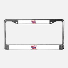 Papa's Funnel Cakes License Plate Frame