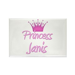 Princess Janis Rectangle Magnet (10 pack)