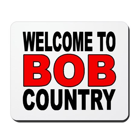 BOB COUNTRY Mousepad