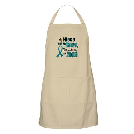 Angel 1 TEAL (Niece) BBQ Apron