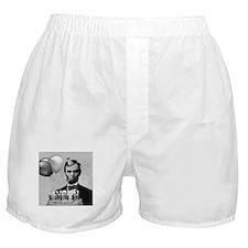 Lincoln's Birthday Boxer Shorts