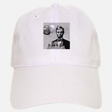 Lincoln's Birthday Baseball Baseball Cap