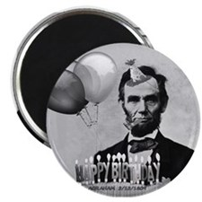 Lincoln's Birthday Magnet