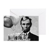 Abraham lincoln birthday Greeting Cards