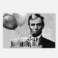Lincoln's Birthday Postcards (Package of 8)