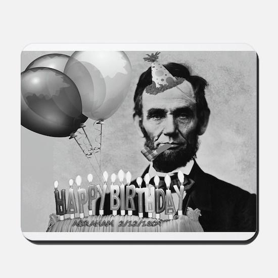 Lincoln's Birthday Mousepad