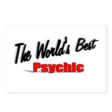 """The World's Best Psychic"" Postcards (Package of 8"