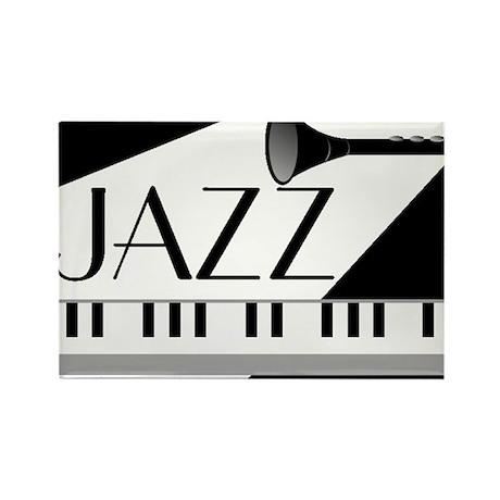 Jazz Rectangle Magnet