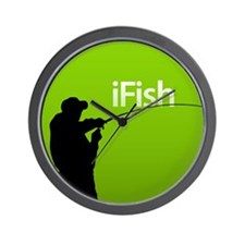 iFish Wall Clock
