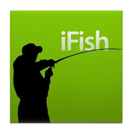 iFish Tile Coaster