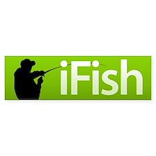 iFish Bumper Bumper Bumper Sticker