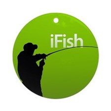 iFish Ornament (Round)