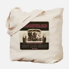 Woodward Hot Rod Shop Tote Bag