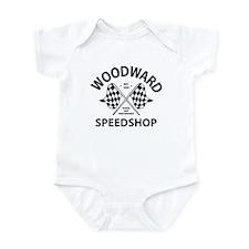 Woodward Speedshop Onesie