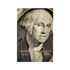 George Washington Rectangle Magnet