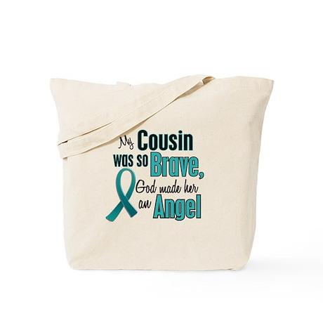 Angel 1 TEAL (Cousin) Tote Bag