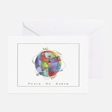 Peace On Earth Christmas Greeting Cards (Package o