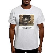 Basket Case Ash Grey T-Shirt