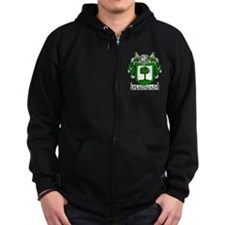 Flanagan Coat of Arms Zip Hoodie