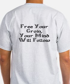 Celtic Free Your Groin/Mind Will Follow Light Tee