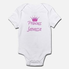 Princess Janessa Infant Bodysuit