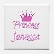 Princess Janessa Tile Coaster