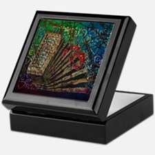 Cajun Accordian Keepsake Box