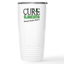 CURE Glaucoma 3 Ceramic Travel Mug