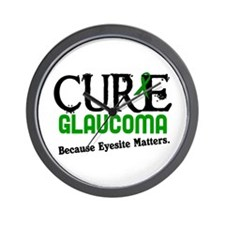 CURE Glaucoma 3 Wall Clock