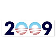 2009 Barack Obama Logo Bumper Bumper Sticker