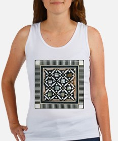 Egyptian Tile Inlay Women's Tank Top