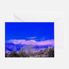 Pikes Peak Sunrise Greeting Card