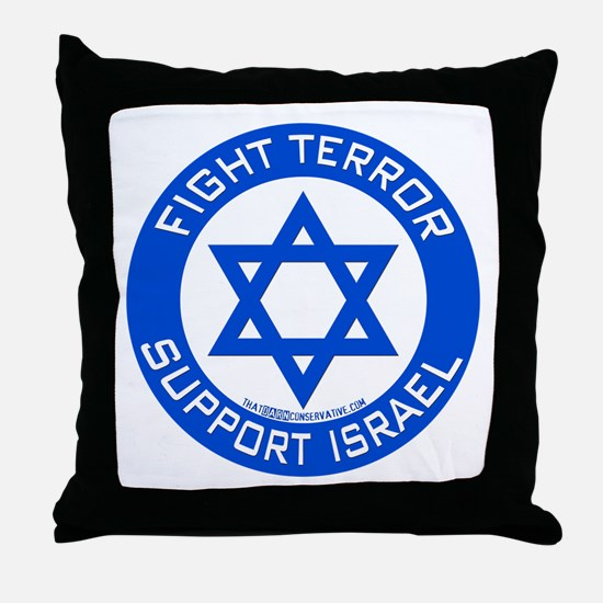I Support Israel Throw Pillow