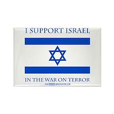 I Support Israel Rectangle Magnet (10 pack)