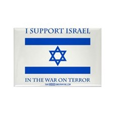 I Support Israel Rectangle Magnet