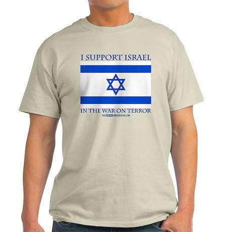 I Support Israel Light T-Shirt