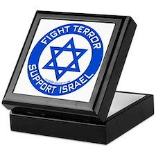 I Support Israel Keepsake Box