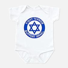 I Support Israel Infant Bodysuit